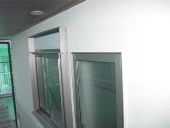 断熱効果の高いペアガラスに取り替えてもらいました。汚れが目立っていた外壁も新築同様に綺麗になりました。