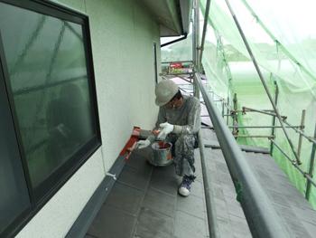 岸和田市の外壁塗装リフォーム事例です。